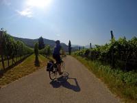 Rowerem w cieniu Dolomitów