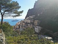 Amalfi - wielki błękit