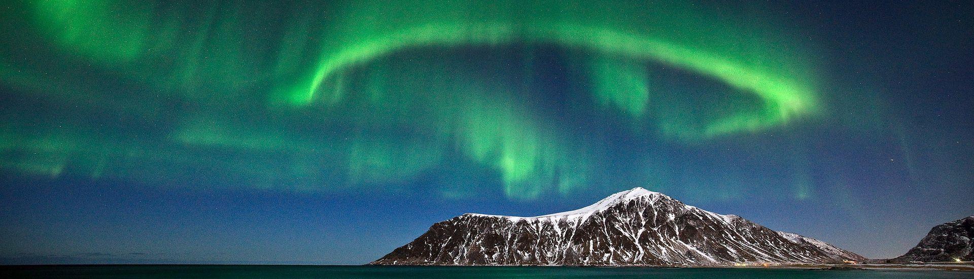 Norwegia w blasku zorzy