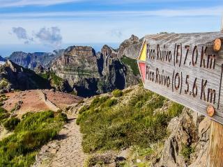 Góry i lewady Madery