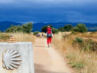 Camino de Santiago pieszo