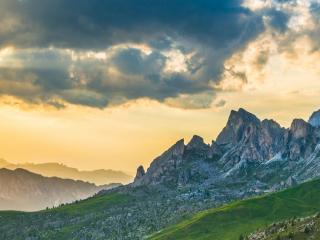 Panorama Dolomitów