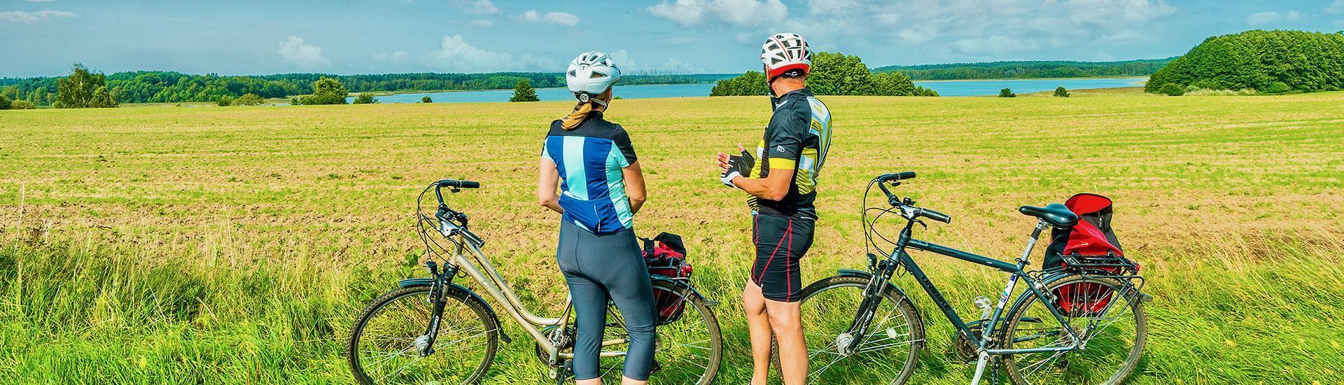 NOWOŚĆ!  Mazury - Pojezierze na rowerze